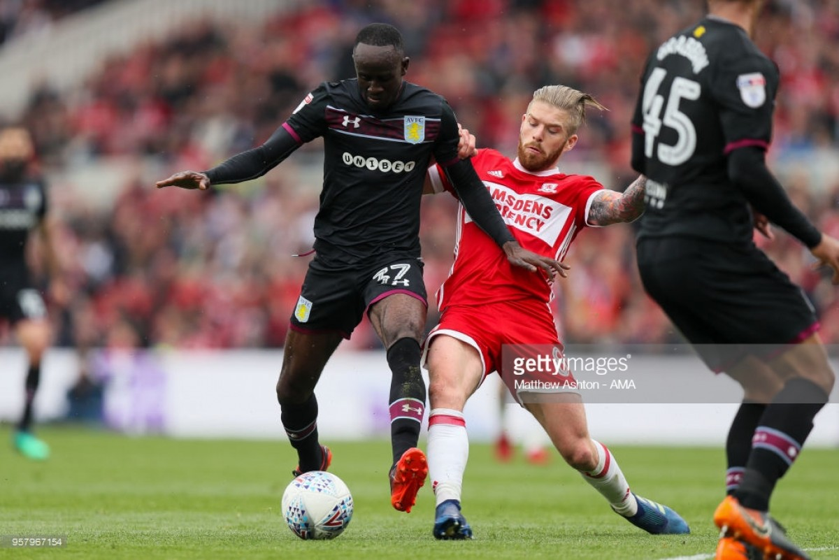 Villa hold off Boro to reach Championship playoff final