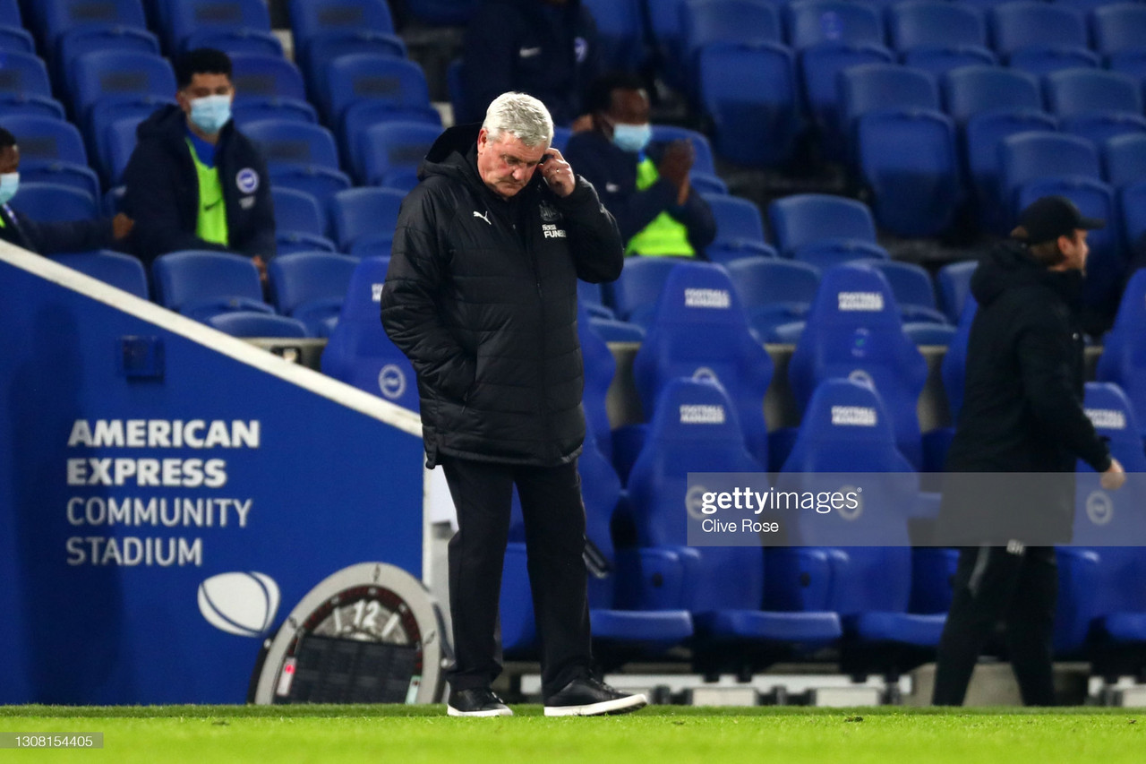 The Warm Down: Awful Newcastle thrashed by Brighton as pressure continues to pile on Steve Bruce