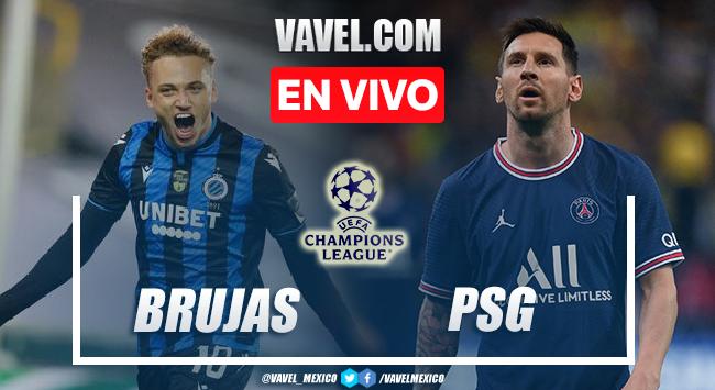 Goles y resumen del Brujas 1-1 PSG en UEFA Champions League 2021