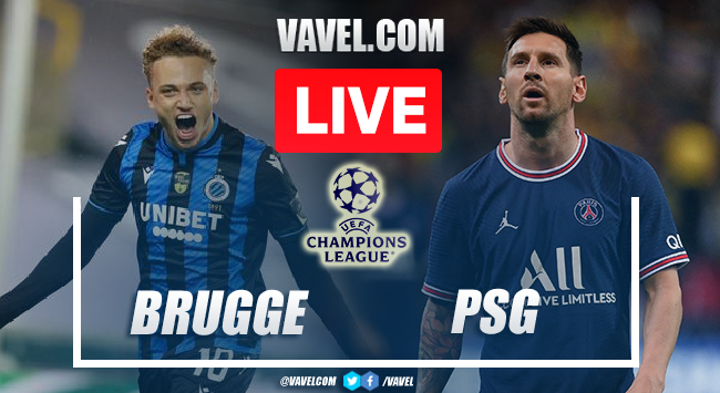 Goals and Highlights: Brugge 1-1 PSG in Champions League 2021