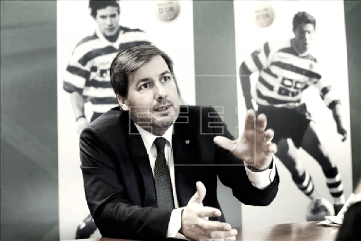 """Bruno de Carvalho: """"Semedo aquí nunca dio problemas, era un chico muy trabajador"""""""