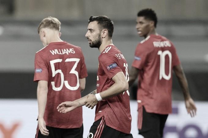 Manchester United sofre, mas vence Copenhagen na prorrogação e segue na Europa League