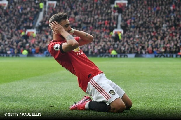 Bruno Fernandes e o Manchester United