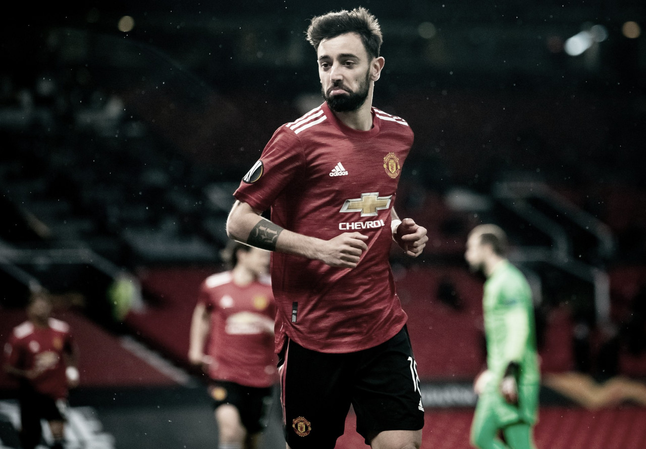 Em partida eletrizante, Manchester United goleia Roma e põe um pé na final da Europa League