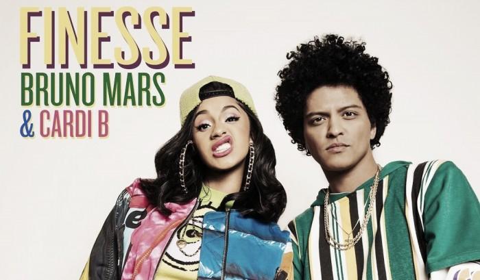 Bruno Mars lança remix de 'Finesse' em parceria com Cardi B