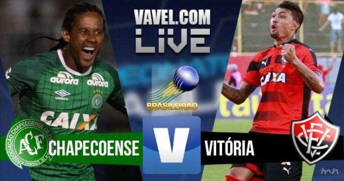 Resultado Chapecoense x Vitória no Brasileirão 2016 (1-4)