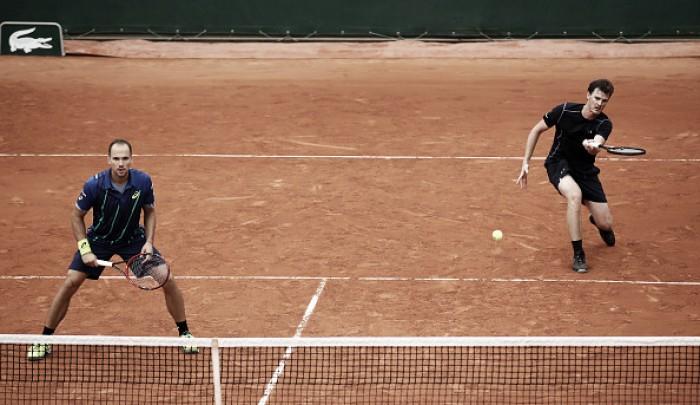 Dupla Soares e Murray é eliminada na terceira rodada de Roland Garros