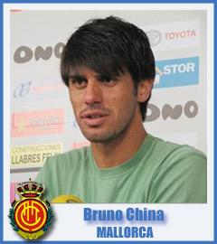 Bruno China deja de ser jugador del RCD Mallorca