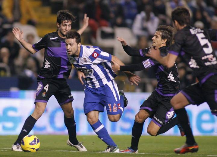 Valladolid - Deportivo: los antecedentes