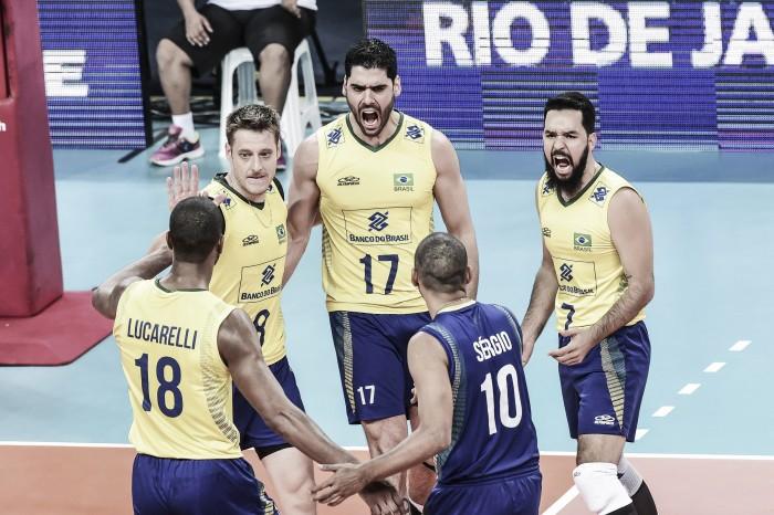 Resultado Brasil x Argentina pela Liga Mundial de Vôlei 2016