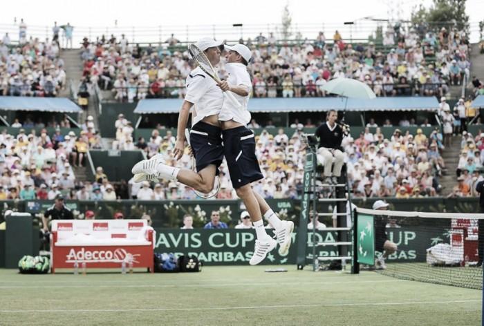 Davis Cup, il doppio è dei Bryan. All'Australia non basta capitan Hewitt per la grande rimonta