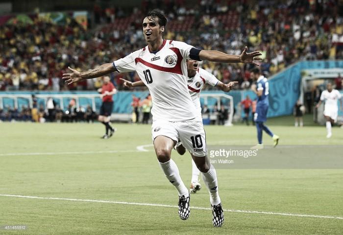 Bryan Ruiz foi o segundo melhor do ano para a CONCACAF