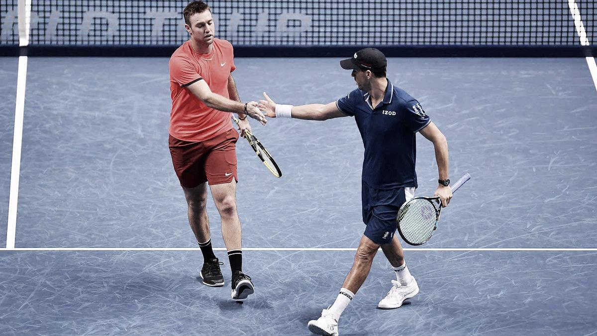 Bryan/Sock derrotam Herbert/Mahut em jogo de alto nível e conquistam ATP Finals