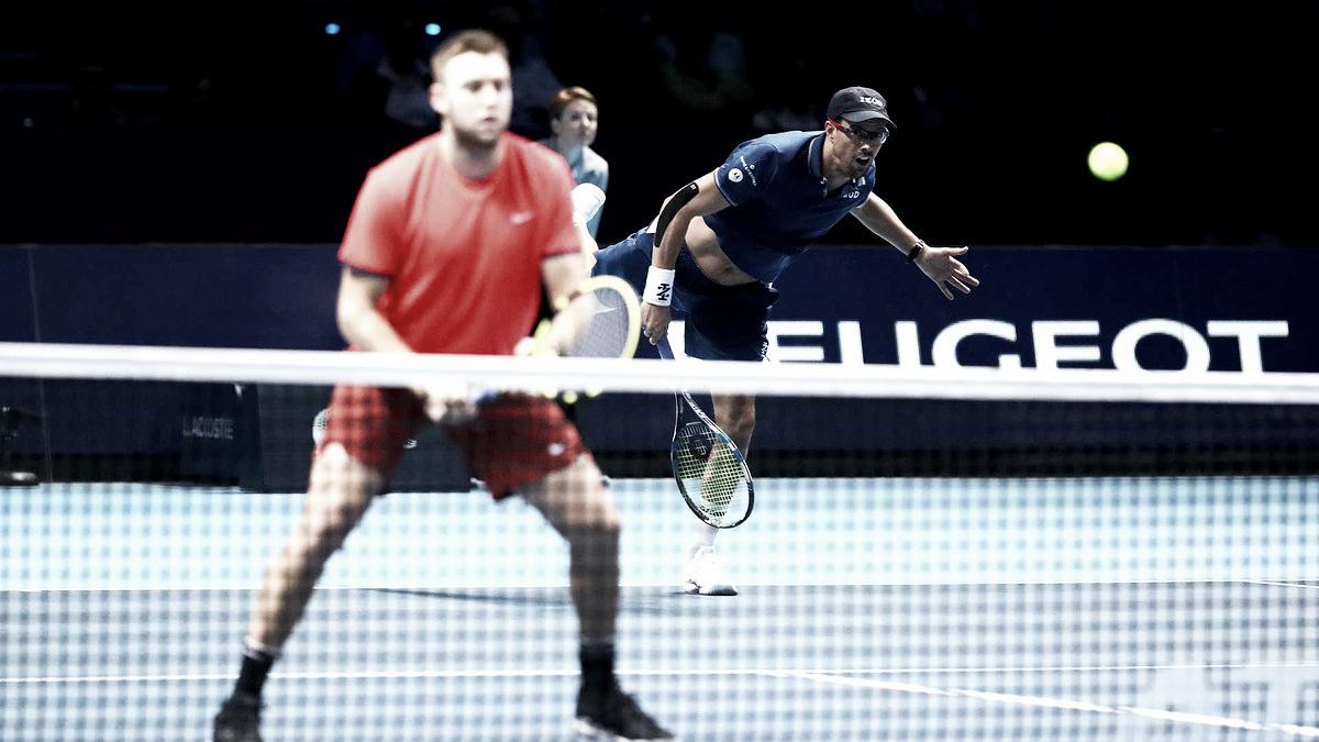 Bryan/Sock batem Marach/Pavic e ficam muito perto das semifinais no ATP Finals