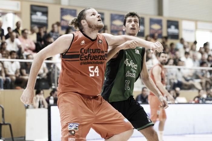 El Valencia Basket ahoga a un Joventut mermado en el juego interior