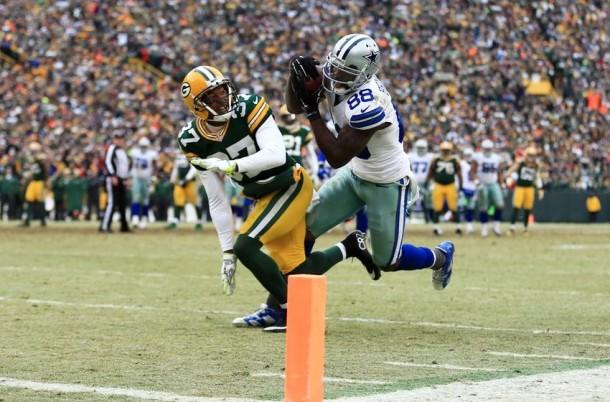 Score Dallas Cowboys vs Green Bay Packers of 2015 NFL Football (7-28
