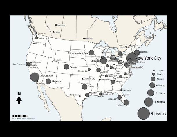 Franquicias norteamericanas: ¿Por dónde se distribuyen?