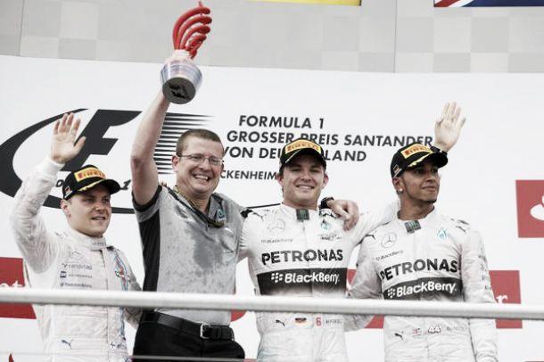 """Nico Rosberg: """"Es fantástico ganar en casa"""""""