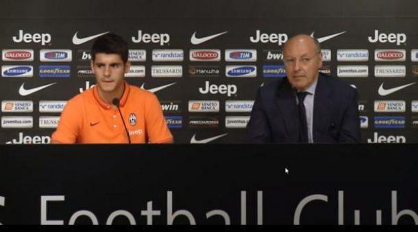 Alvaro Morata è ufficialmente un giocatore della Juventus. Le prime parole dell'attaccante