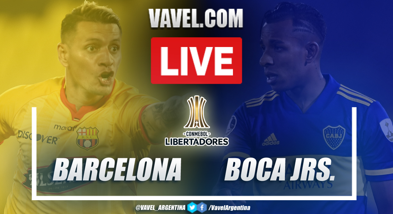 Resumen Barcelona SC vs Boca (1-0) en la fecha 3 del grupo C por Copa Libertadores 2021