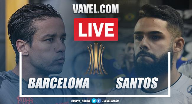 Gols e melhores momentos deBarcelona-EQU x Santos pela Libertadores 2021 (3-1)