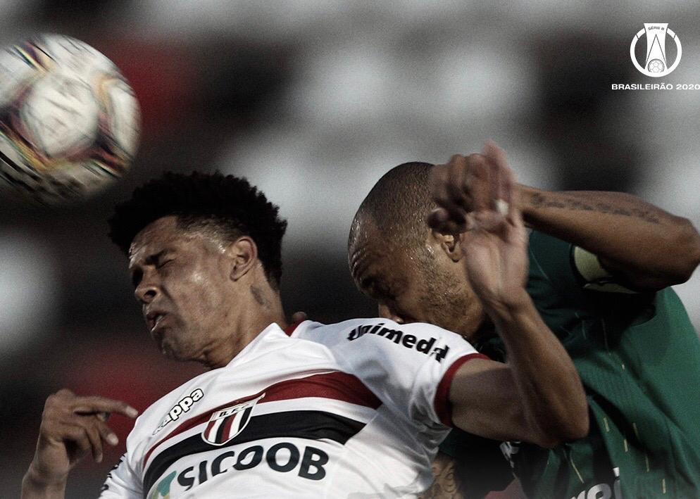 Botafogo-SP arranca empate contra Cuiabá e evita segunda derrota consecutiva pela Série B