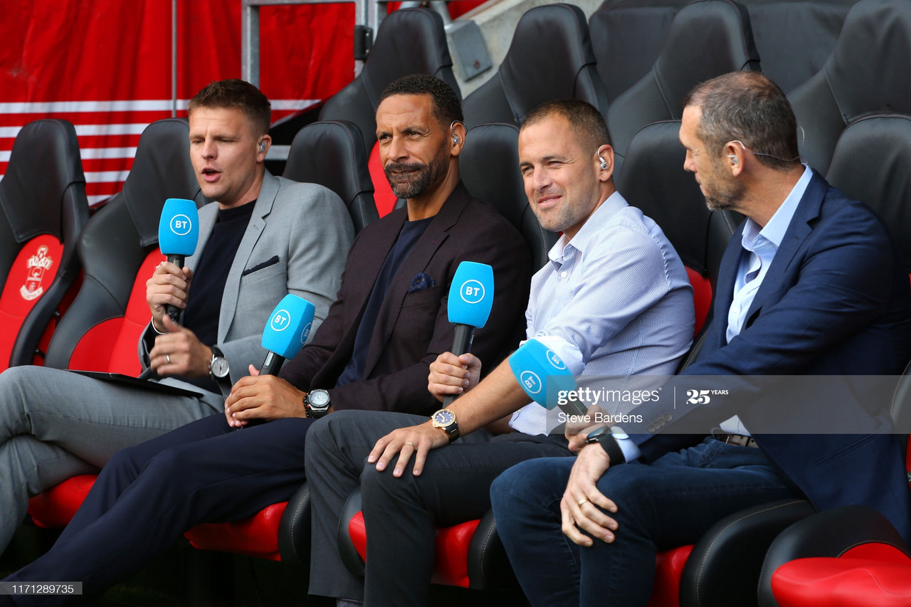 BT Sport broadcasting at St Mary's stadium (Photo by Steve Bardens/Getting Images)