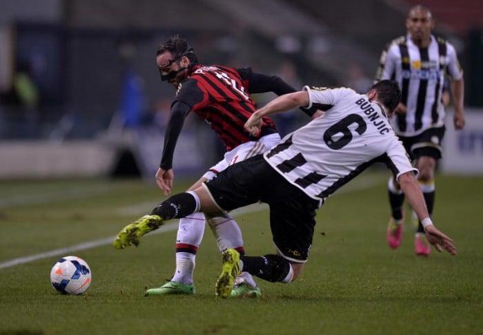 Udinese - Ufficiali Bubnjic e Musavu-King