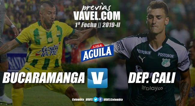 Previa Atlético Bucaramanga vs Deportivo Cali: sin muchos refuerzos para el debut