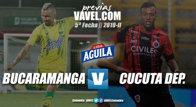 Previa Atlético Bucaramanga vs Cúcuta Deportivo: un clásico con diferentes necesidades