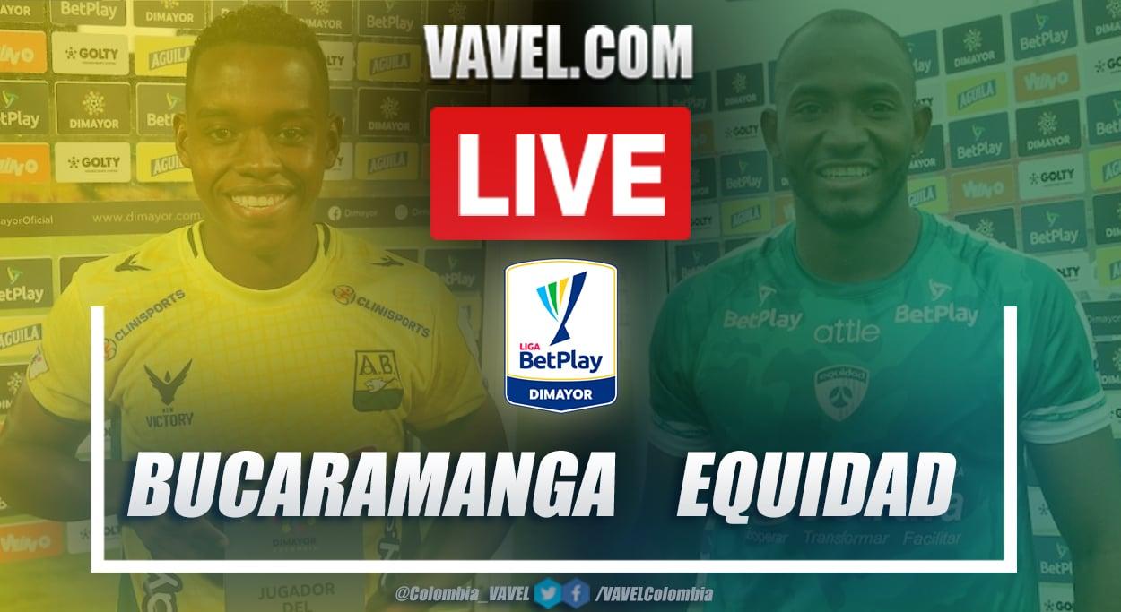 Resumen Bucaramanga vs Equidad (0-0) en la fecha 5 por Liga BetPlay 2021-I