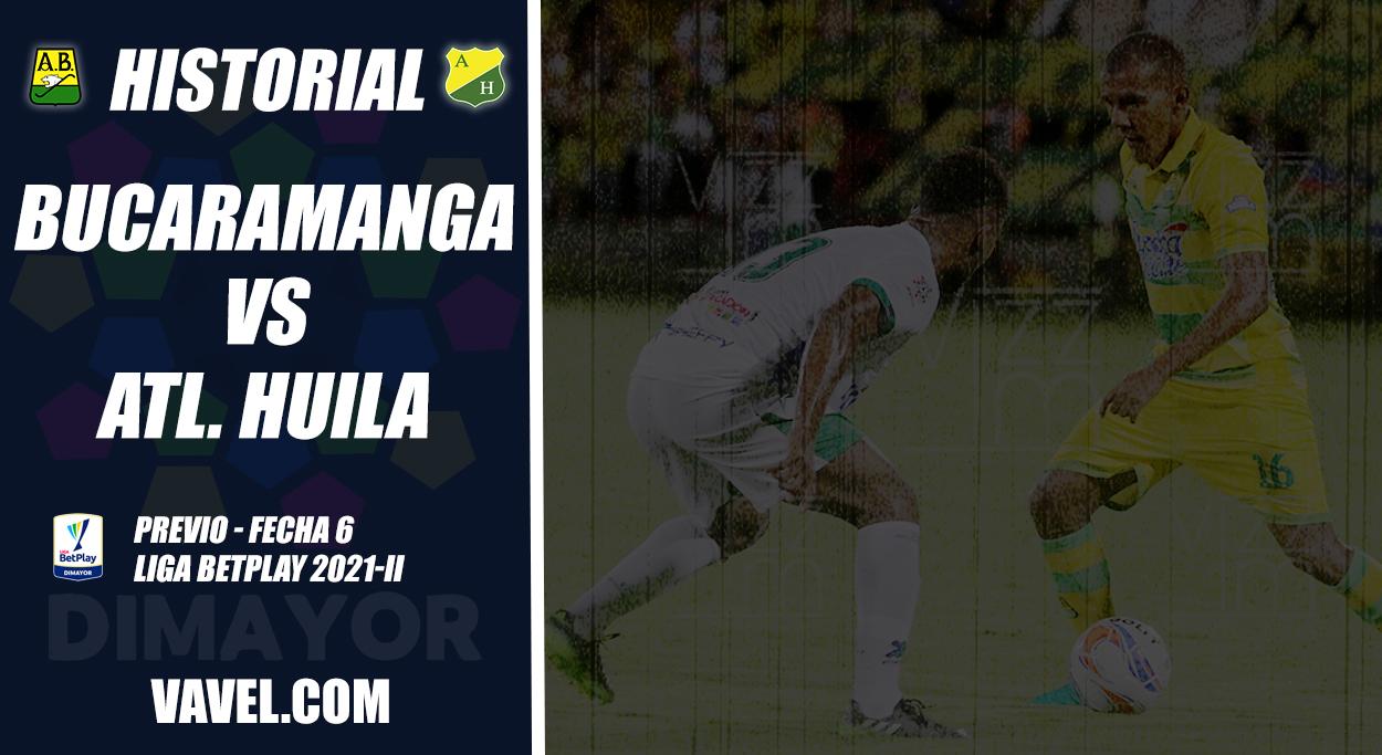 Historial Atlético Bucaramanga vs. Atlético Huila: superioridad 'auriverde'