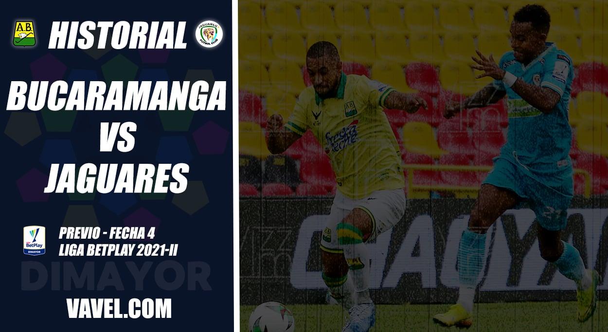 Historial Atlético Bucaramanga vs. Jaguares: superioridad 'auriverde'