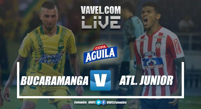 Resumen Altético Bucaramanga vs Atlético Junior por los cuartos de final de la Copa Aguila 2019