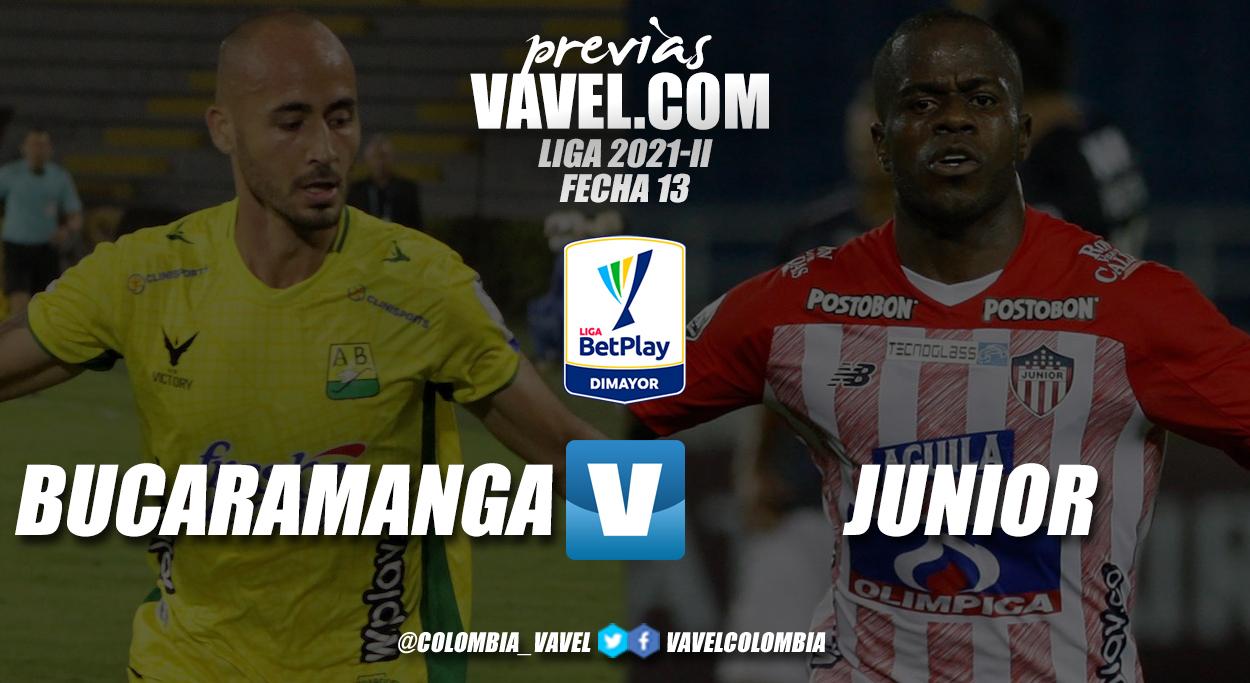 Previa Bucaramanga vs. Junior: duelo por seguir subiendo en la tabla