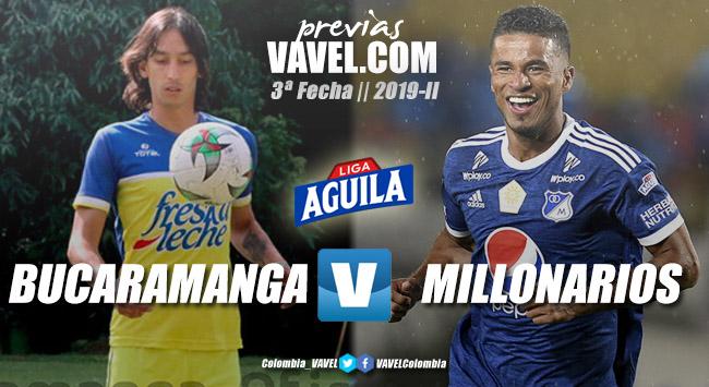 Previa Atlético Bucaramanga vs Millonarios: tres puntos en disputa para despegar