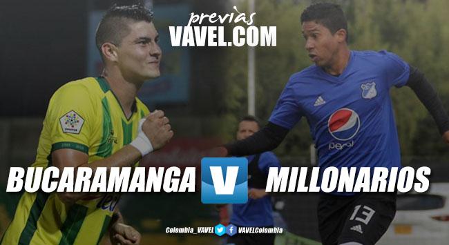 Previa Atlético Bucaramanga vs. Millonarios: a seguir por la senda de la victoria ante un rival que busca recuperarse