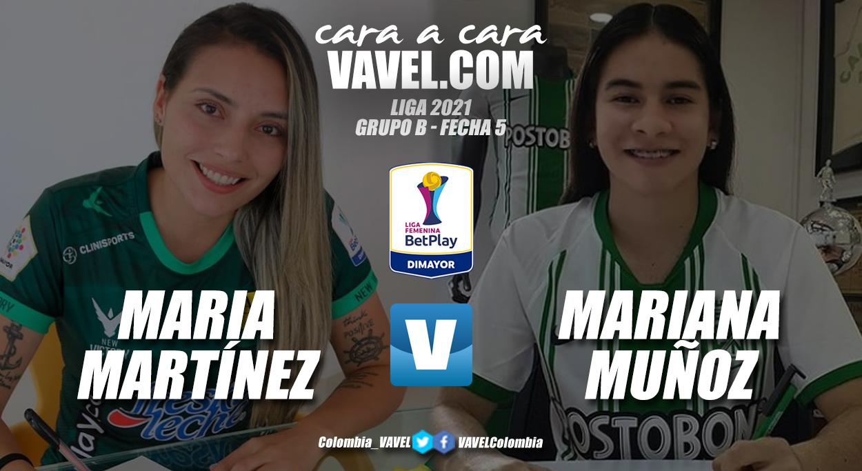 Cara a cara: María Martínez vs Mariana Muñoz