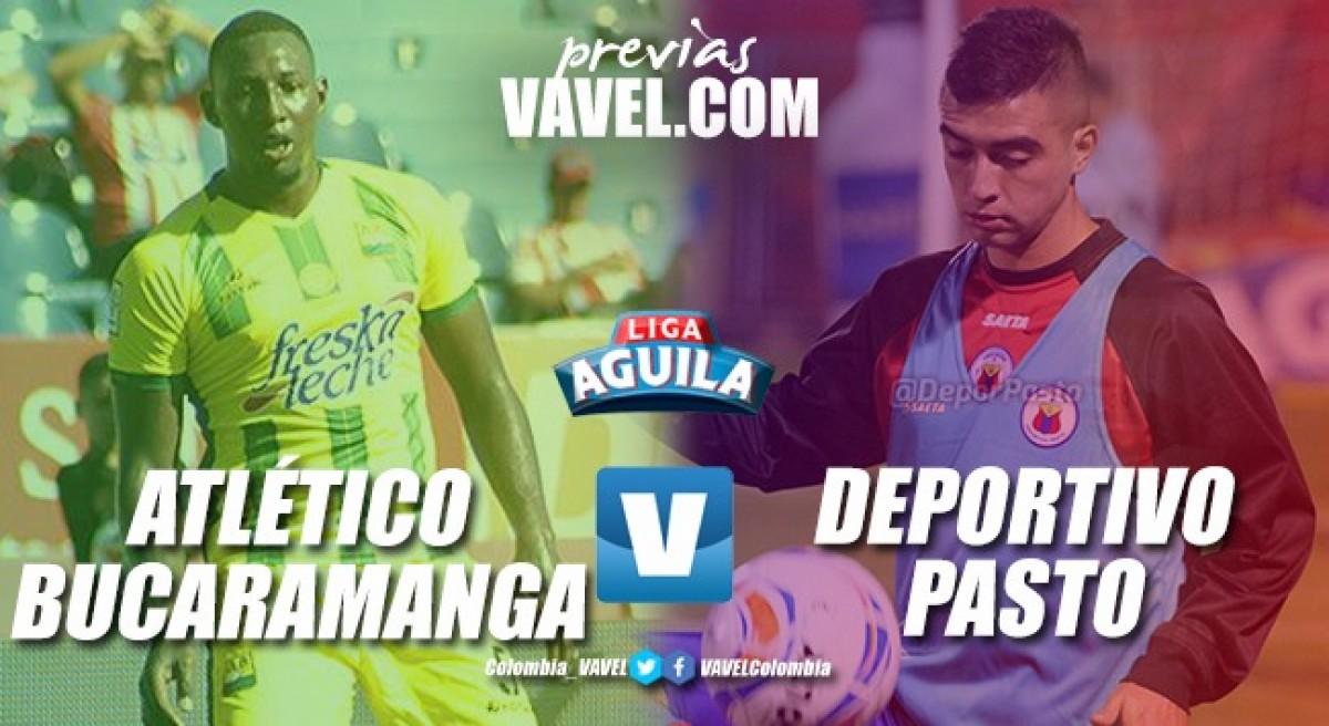 PreviaAtlético Bucaramanga vs. Deportivo Pasto: Un triunfo para restituir el camino