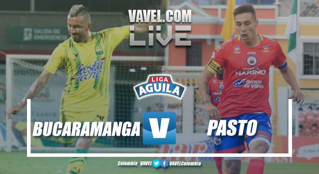 Atlético Bucaramanga vs Deportivo Pasto en vivo y en directo online por la Liga Águila 2019-I (1-0)
