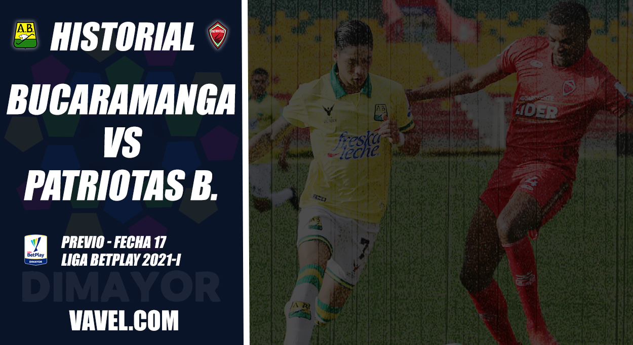 Historial Atlético Bucaramanga vs. Patriotas Boyacá: superioridad 'auriverde'