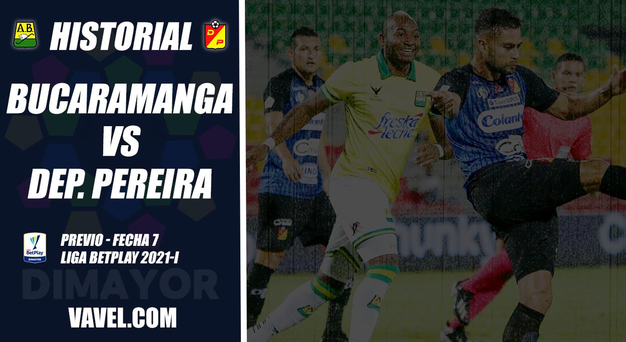 Historial Atlético Bucaramanga vs. Deportivo Pereira: hegemonía 'matecaña'