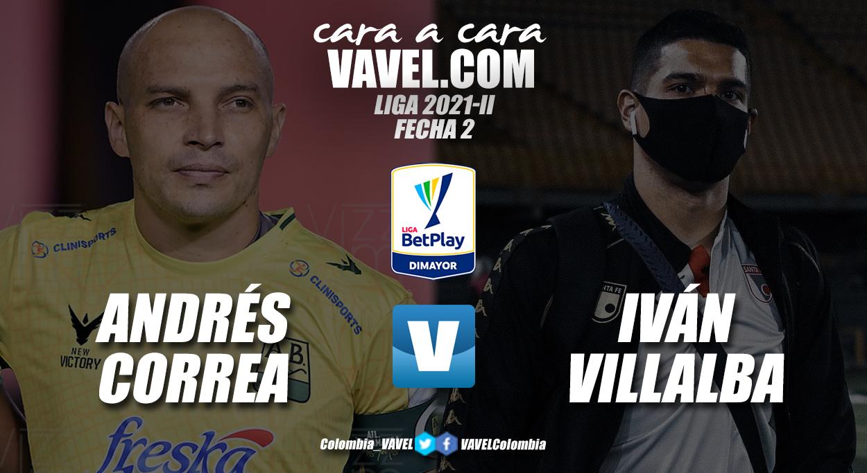 Cara a cara: Andrés Correa vs Iván Villalba