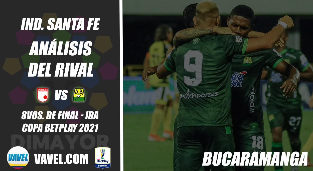 Independiente Santa Fe, análisis del rival: Atlético Bucaramanga (8vos. de final - Ida, Copa 2021)