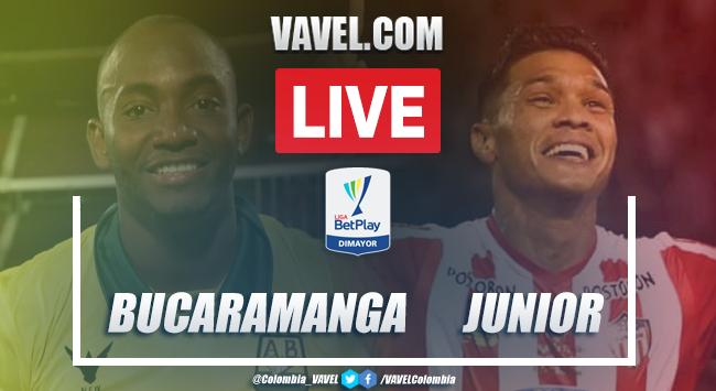 Resumen y goles Bucaramanga 1-1 Junior por Liga BetPlay 2020
