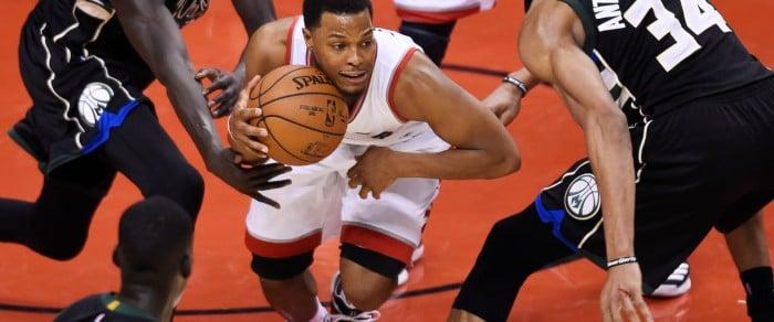 NBA Playoffs 2017 - L'iperattività della difesa dei Bucks manda il tilt i Raptors