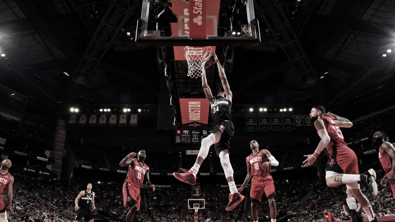 Previa Bucks - Rockets: Giannis y Harden se vuelven a ver las caras