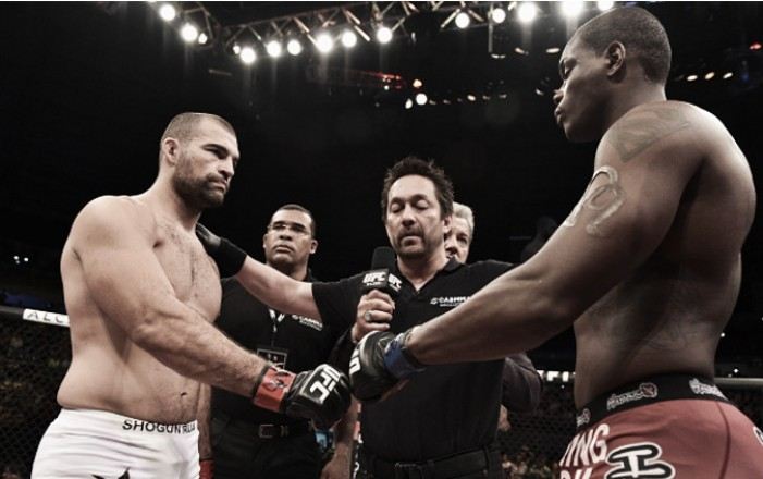 UFC marca revanche entre Shogun e St. Preux para o Japão