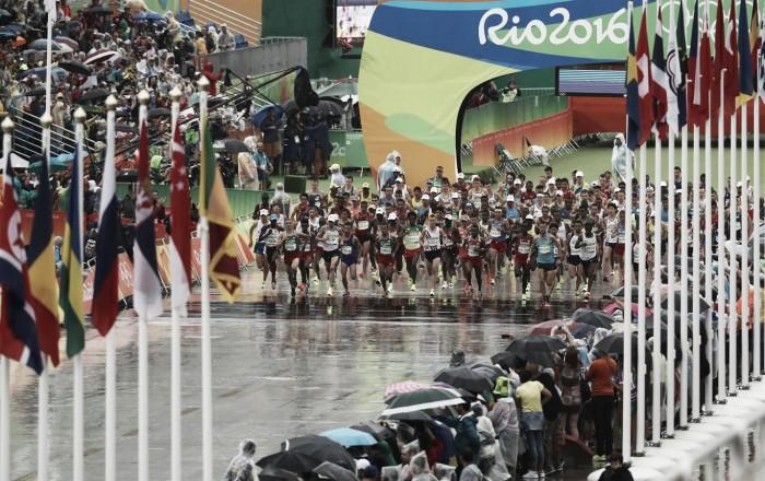 Maratona em manhã nublada no Rio tem nova medalha de ouro para o Quênia