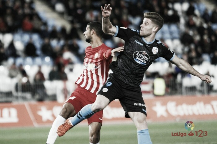 UD Almería - CD Lugo: puntuaciones del Lugo, jornada 21 Segunda División 2017/18